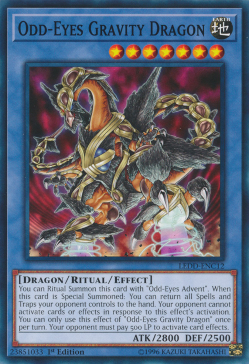 Odd-Eyes Gravity Dragon