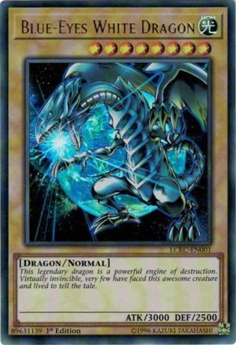 Blue-Eyes White Dragon Alternate Artwork