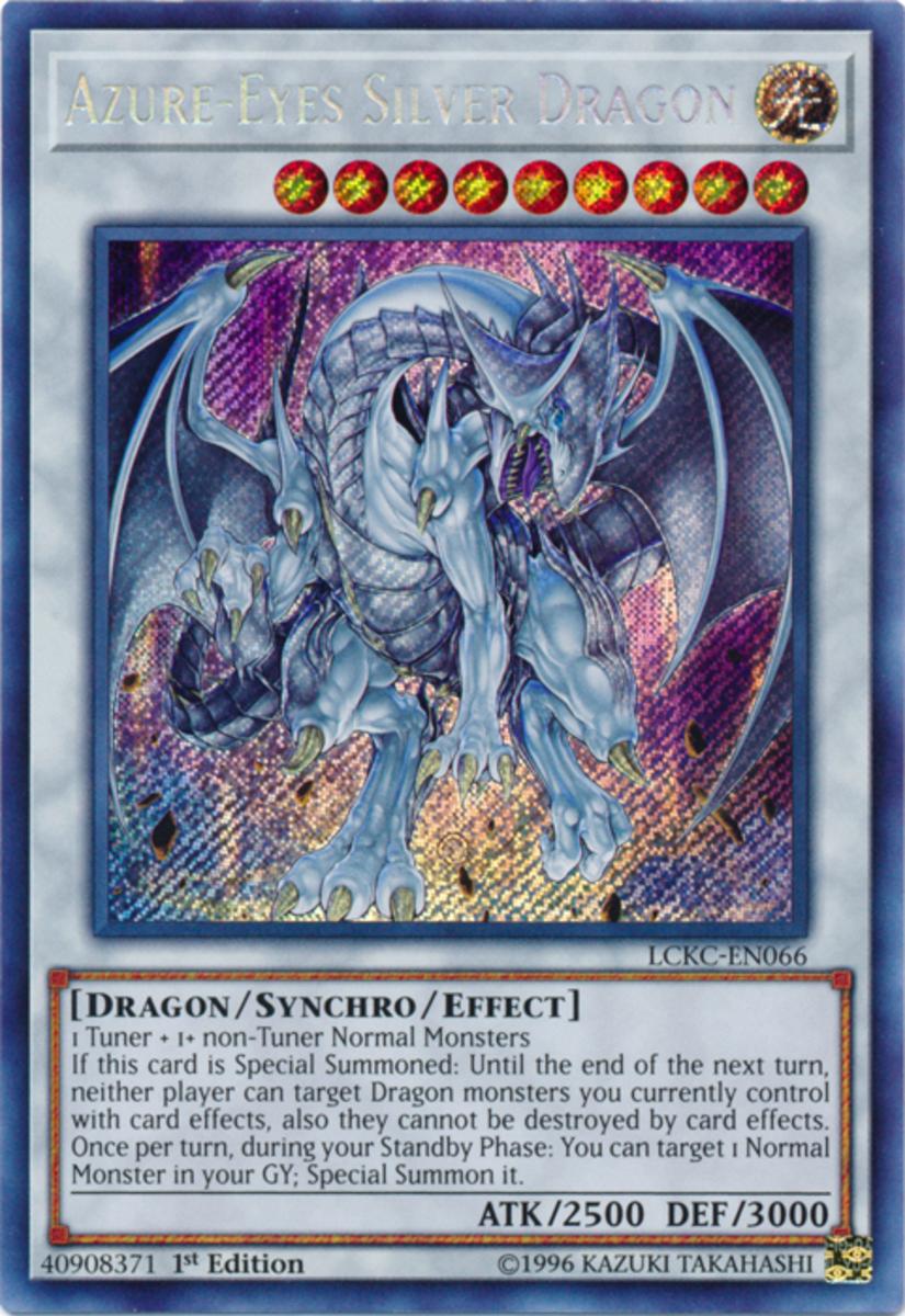 Azure-Eyes Silver Dragon