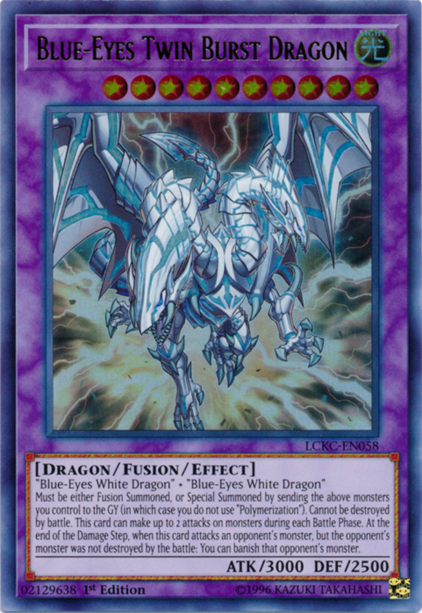Blue-Eyes Twin Burst Dragon