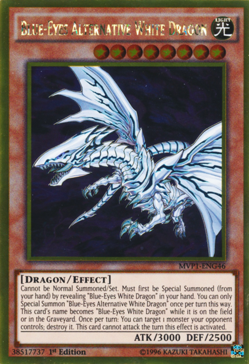 How to Build a Blue-Eyes White Dragon Deck