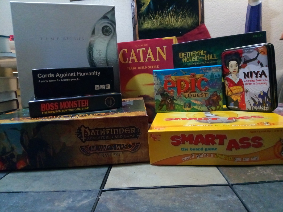A pile of my top 10 games.