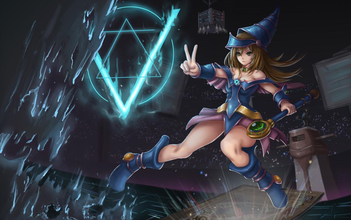 Dark Magician Girl wallpaper