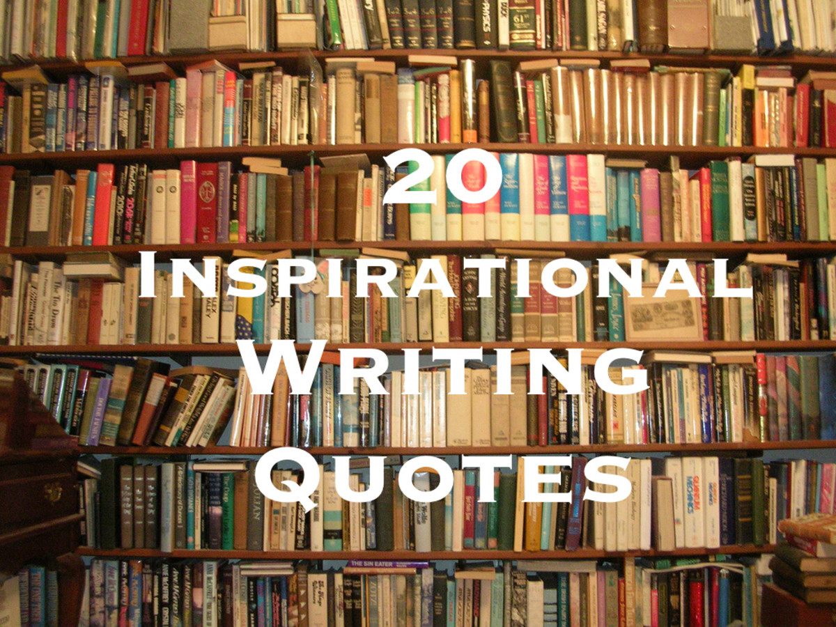 Keep scrolling to read 20 inspirational quotes from favourite authors and poets!