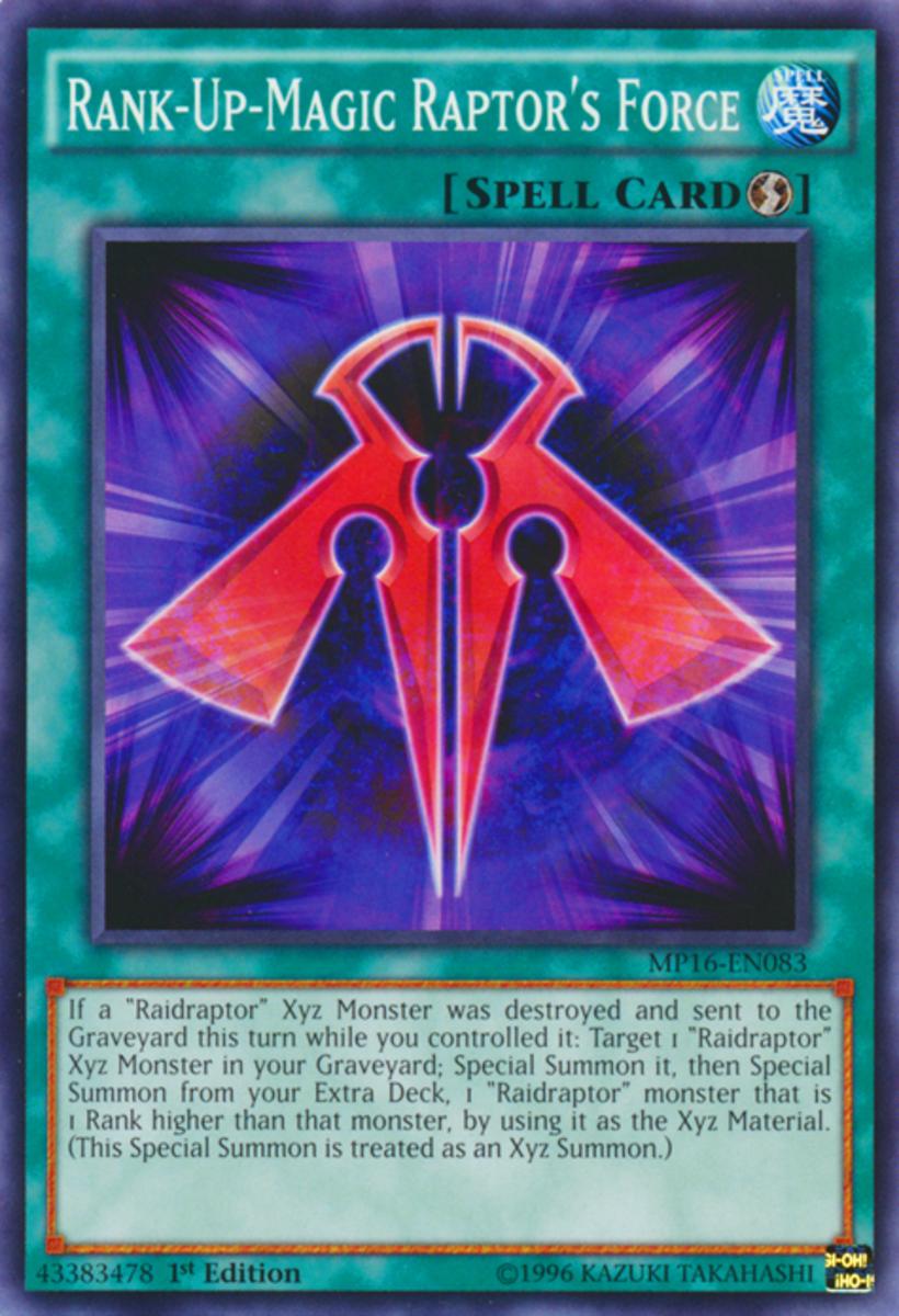 Rank-Up-Magic Raptor's Force