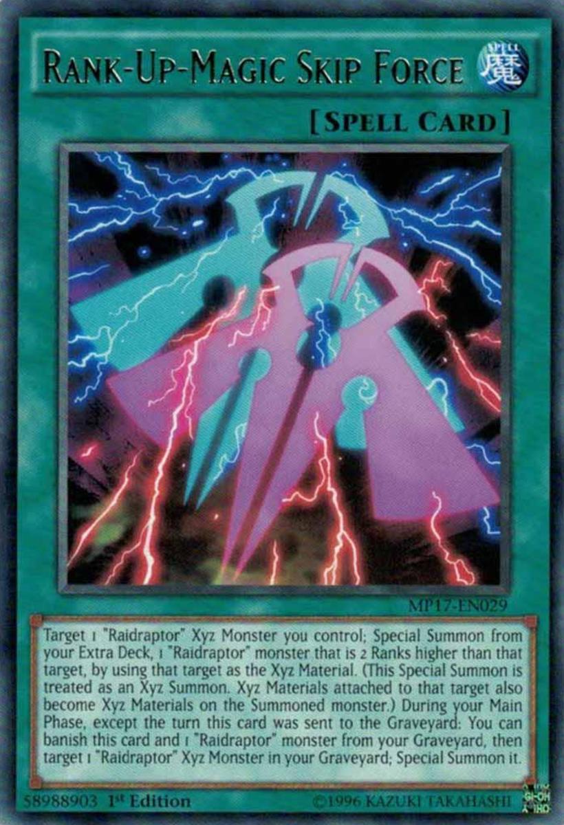 Rank-Up-Magic Skip Force