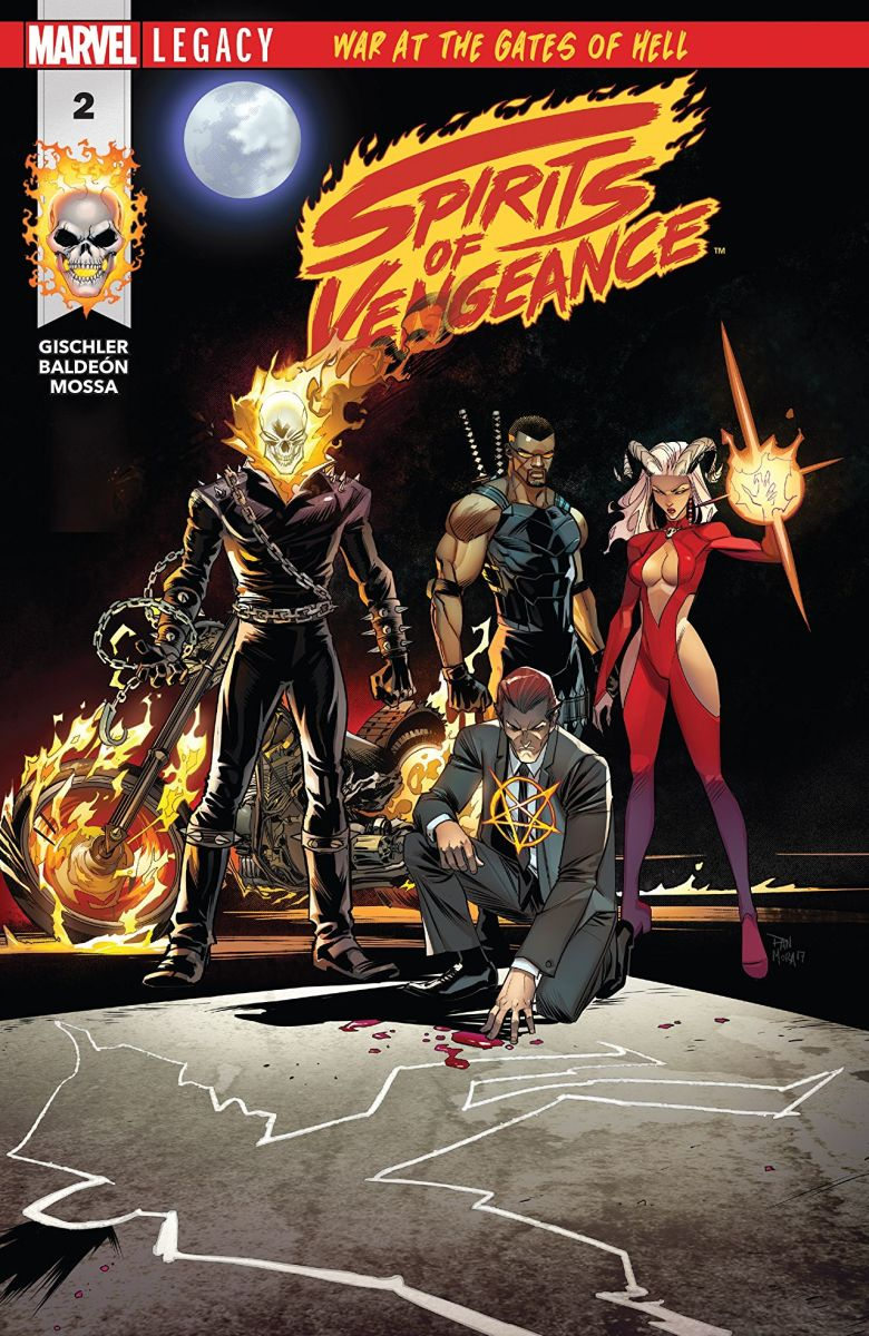 Cover art of issue two