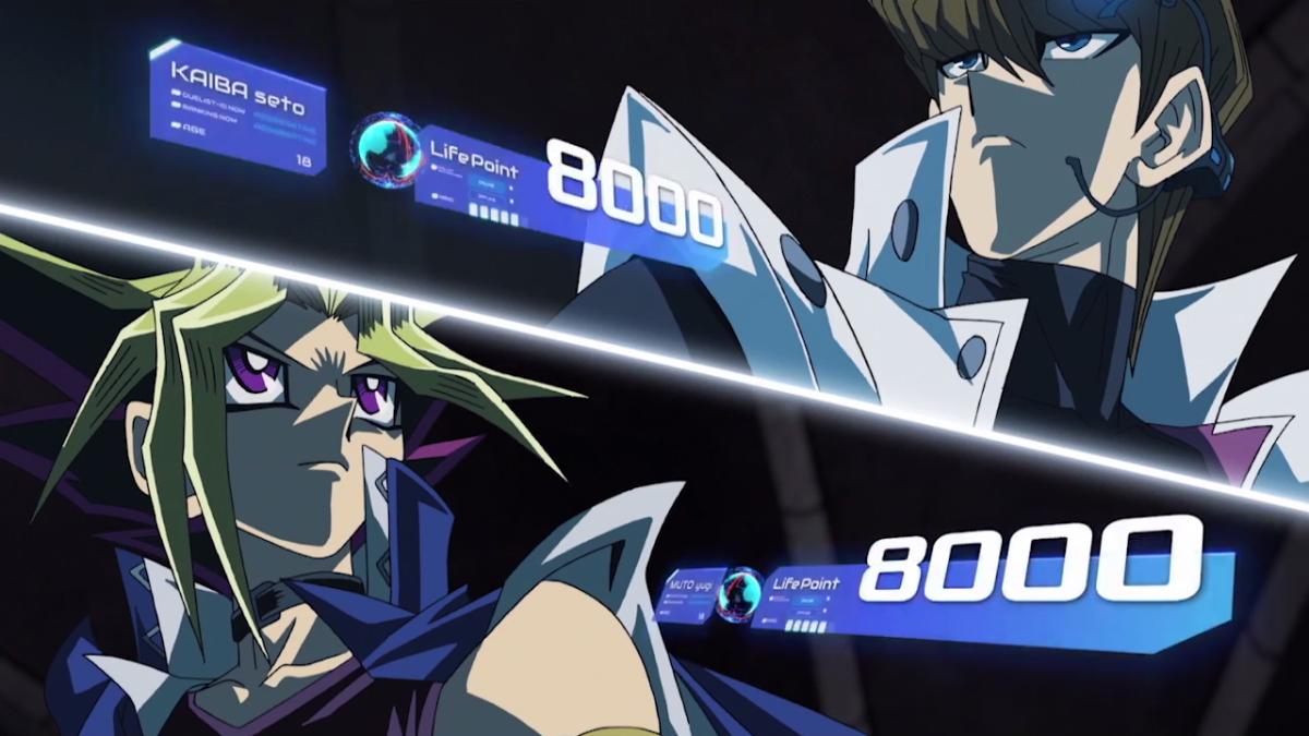 Kaiba vs Atem's hologram