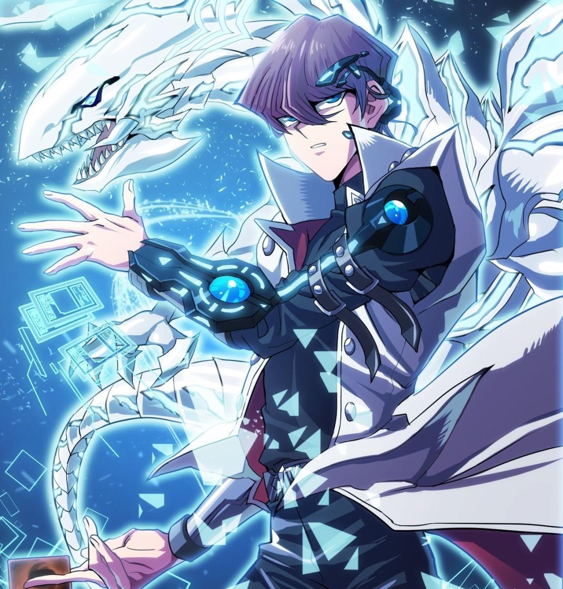 Kaiba and Blue-Eyes White Dragon