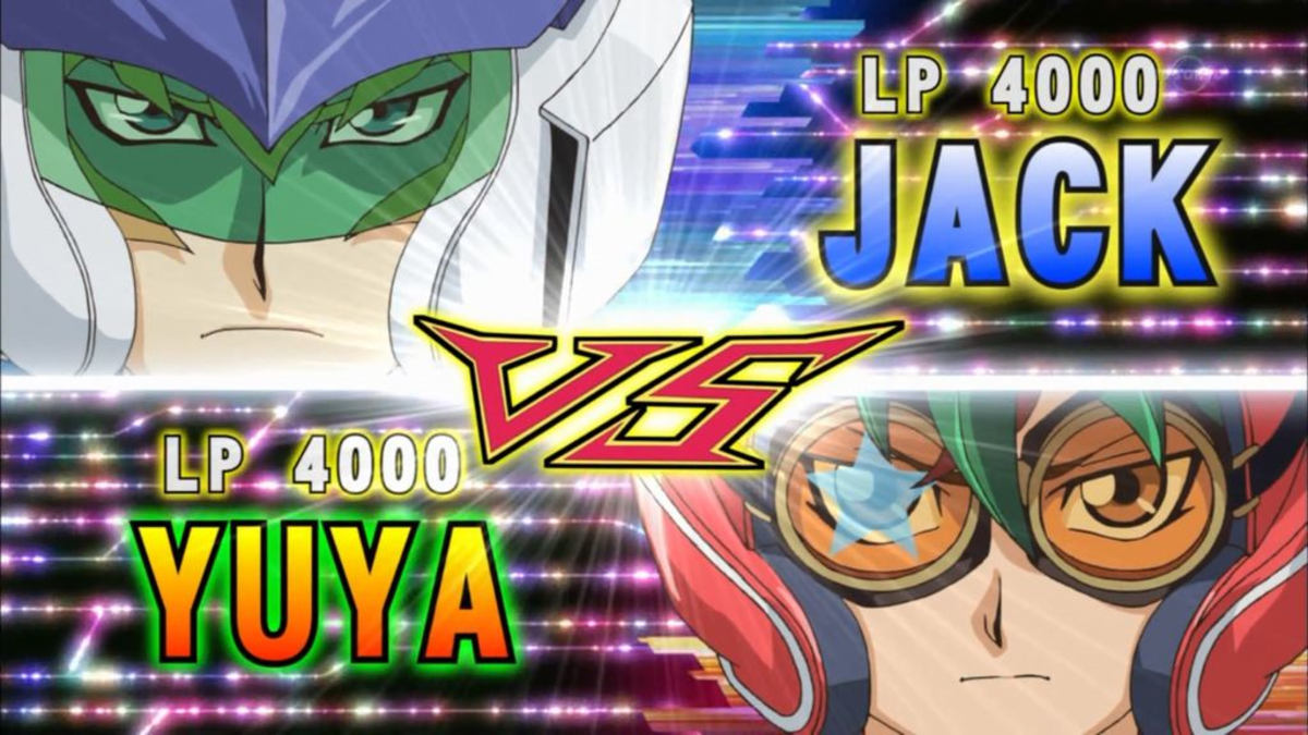 A normal anime duel with 4000 life points