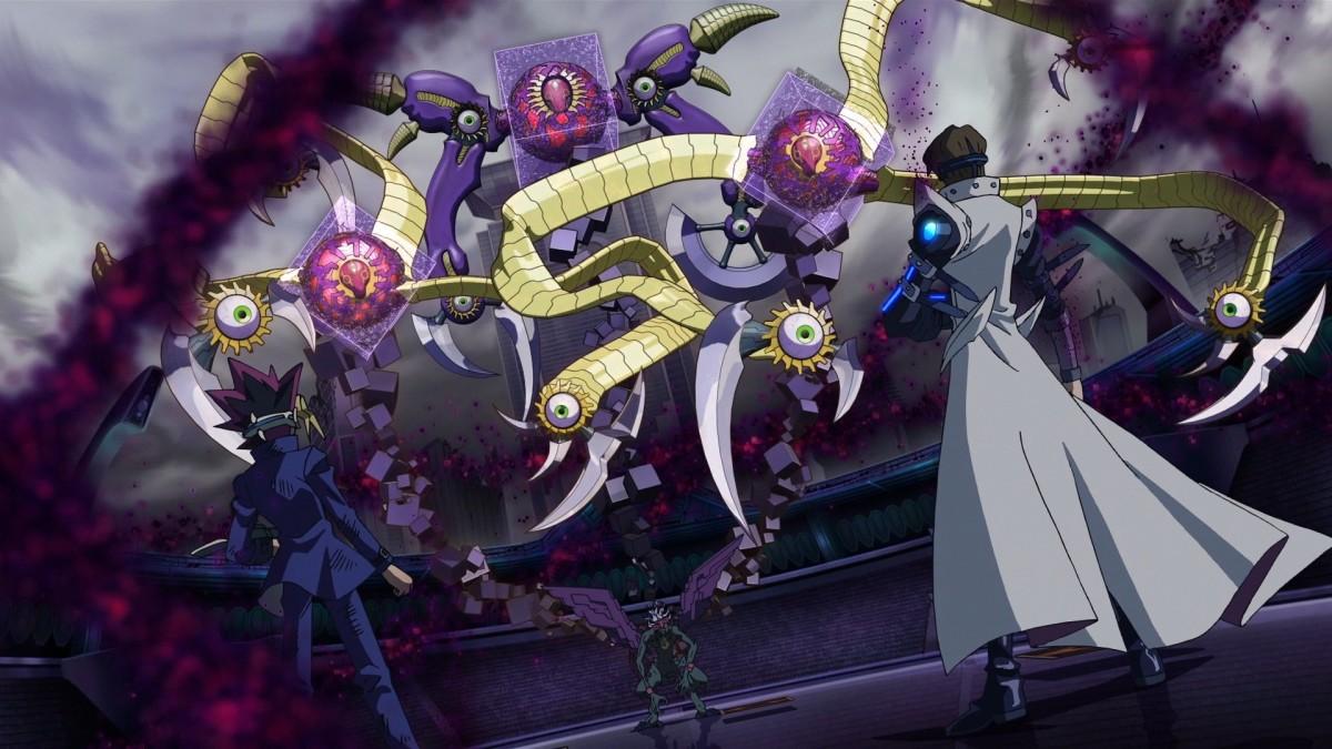Yugi and Kaiba vs Dark Aigami