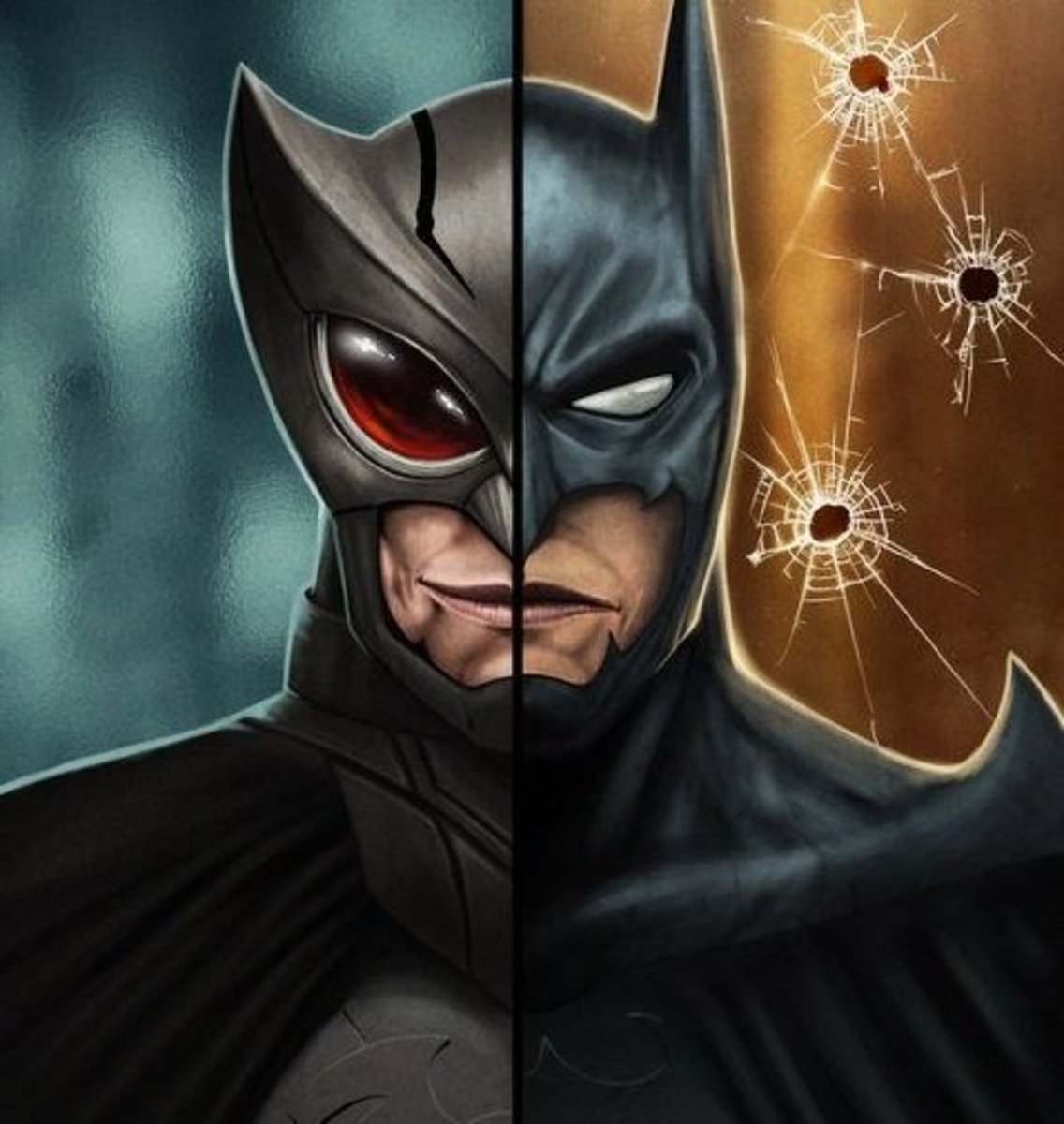 Owlman and Batman