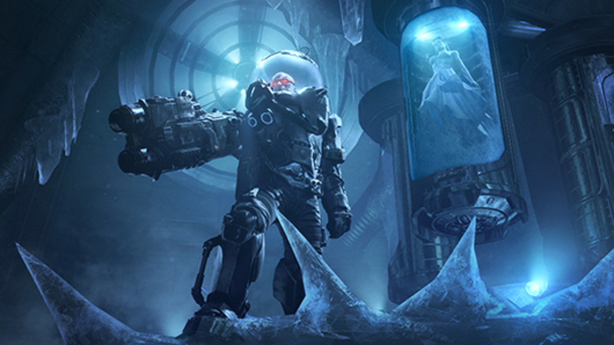 Mr. Freeze and his wife