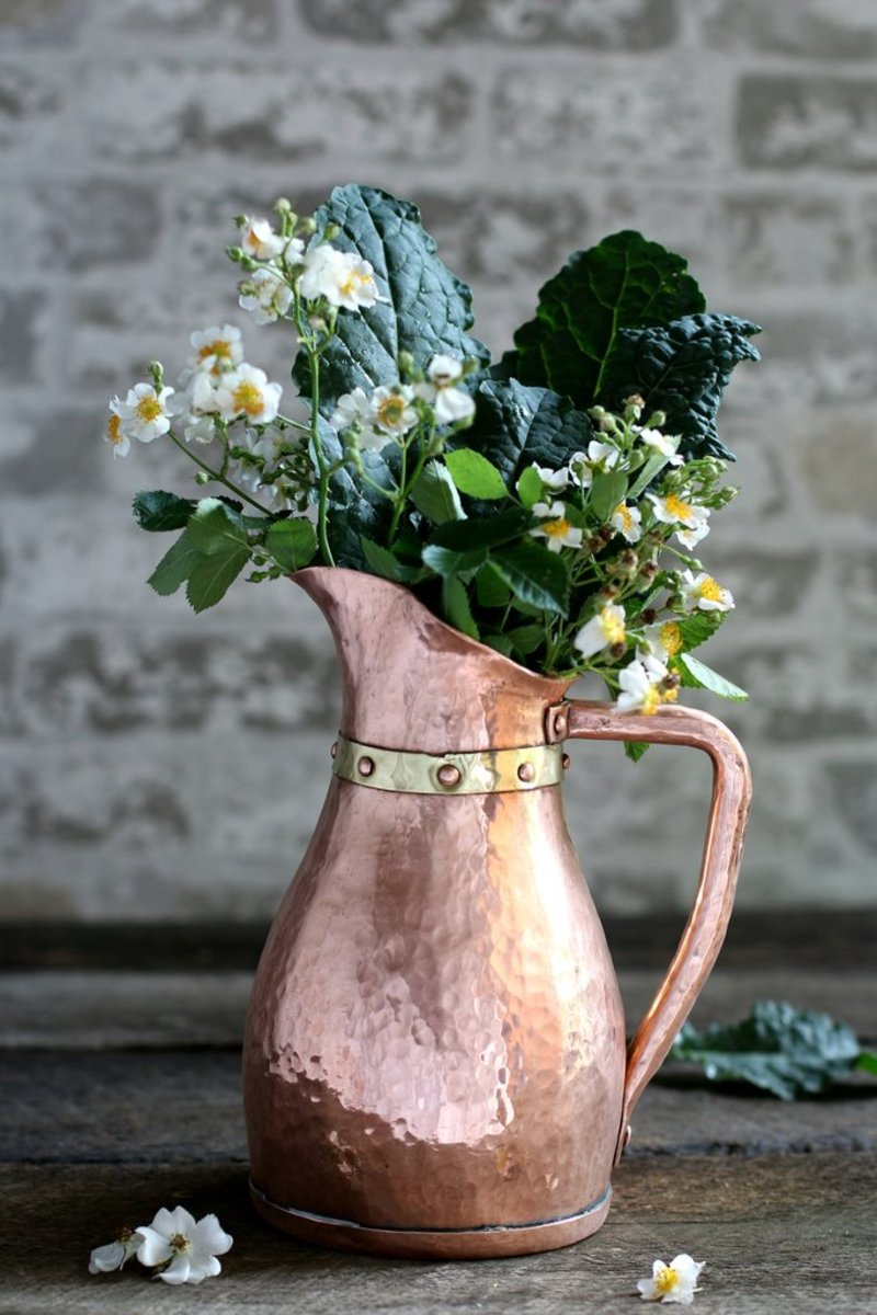 Copper Water Jug circa 1880