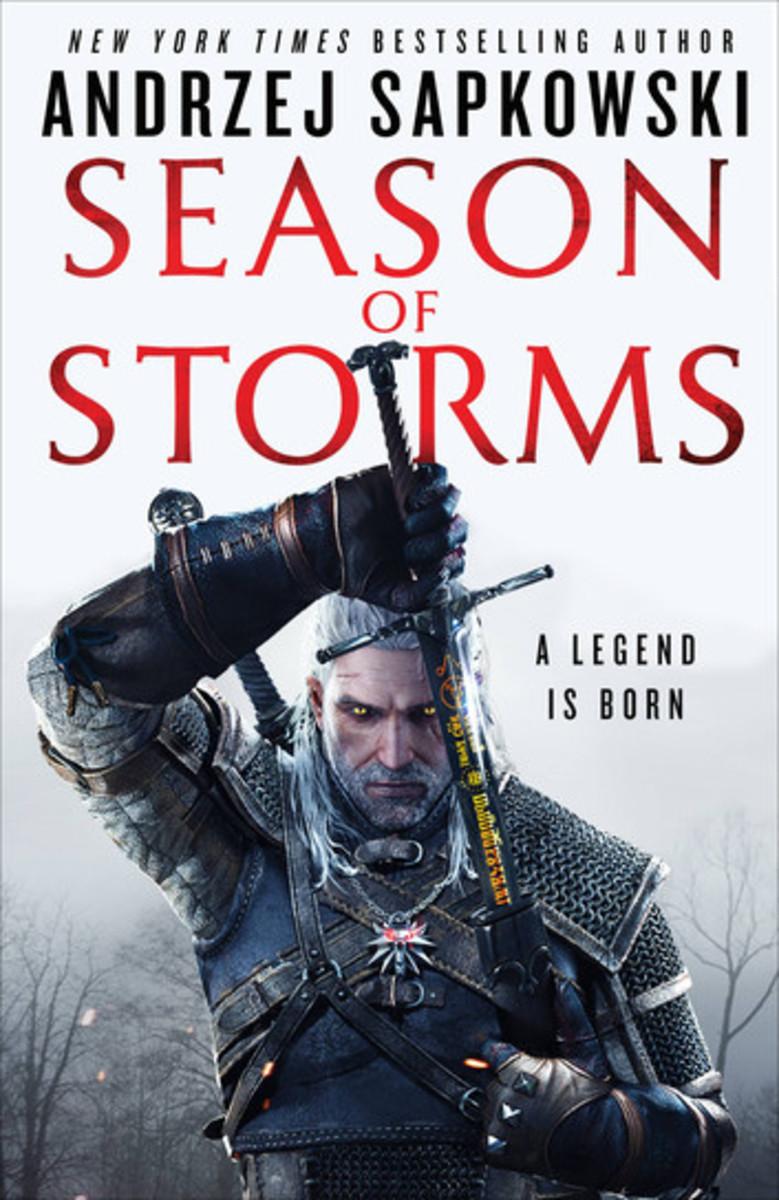 "Cover of ""Season of Storms"" with artwork by Bartlomiej Gawel and Pawel Brudniak"