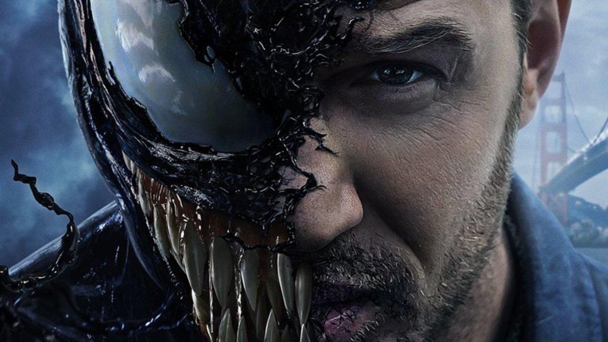 Venom played by Tom Hardy