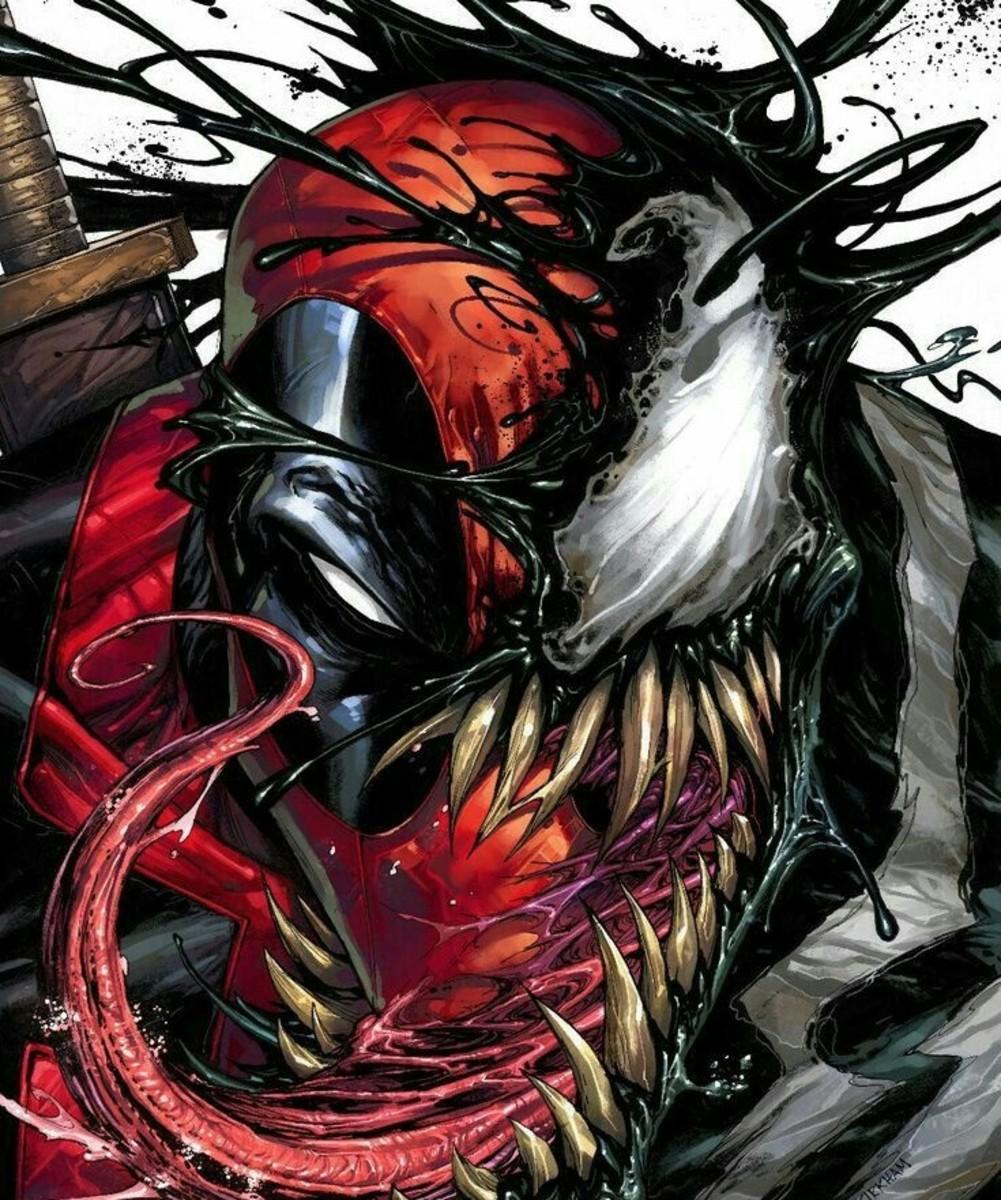 Deadpool and Venom