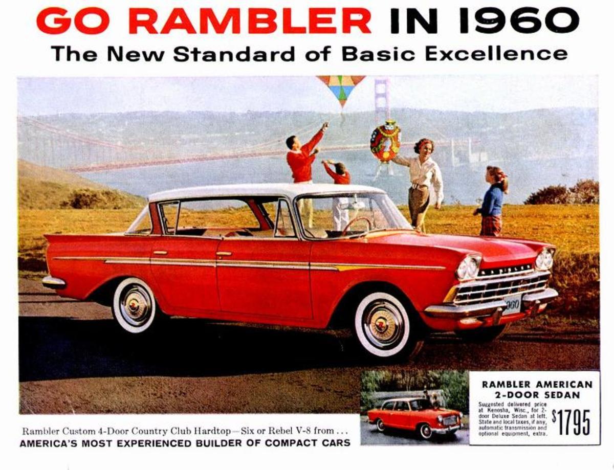 In 1960, an AMC Rambler cost $2,380.