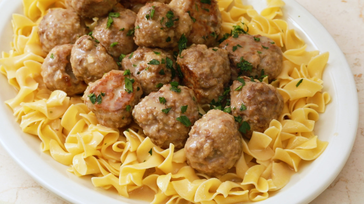 In 1960, Swedish meatballs were all the rage.