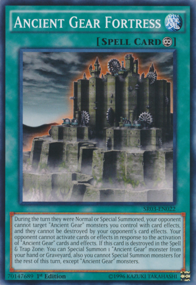 Ancient Gear Fortress
