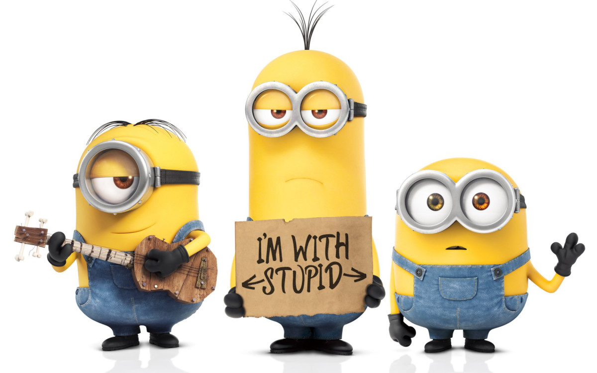 Incompetence is strictly for minions.