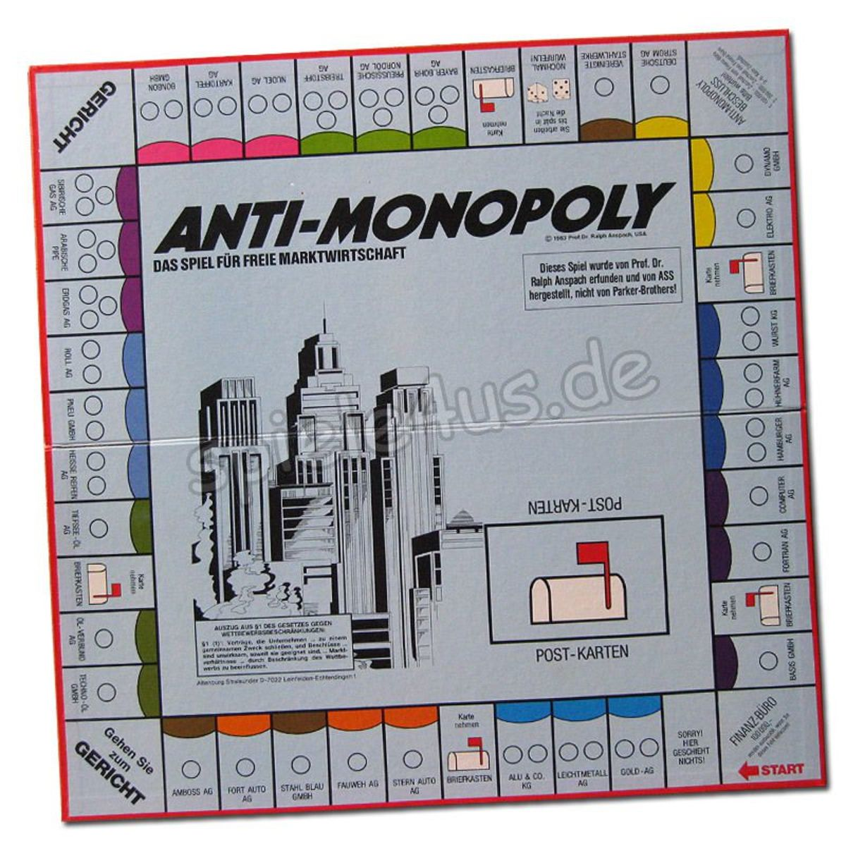 Anti-Monopoly was a popular Christmas gift in 1973.