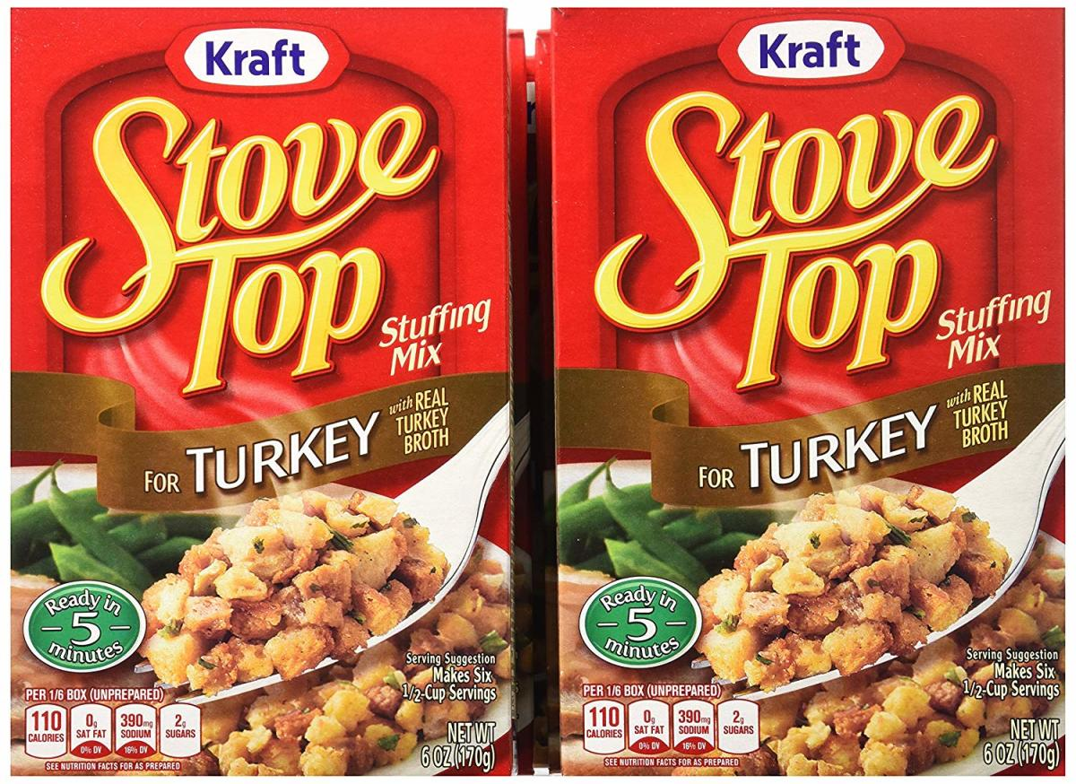 Stove Top Stuffing first appeared in U.S. grocery stores in 1973.