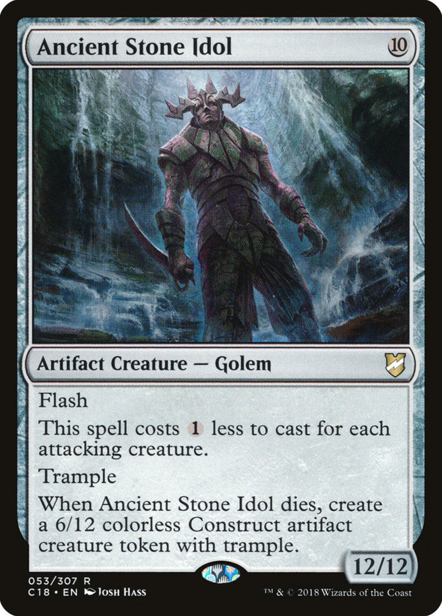 Ancient Stone Idol