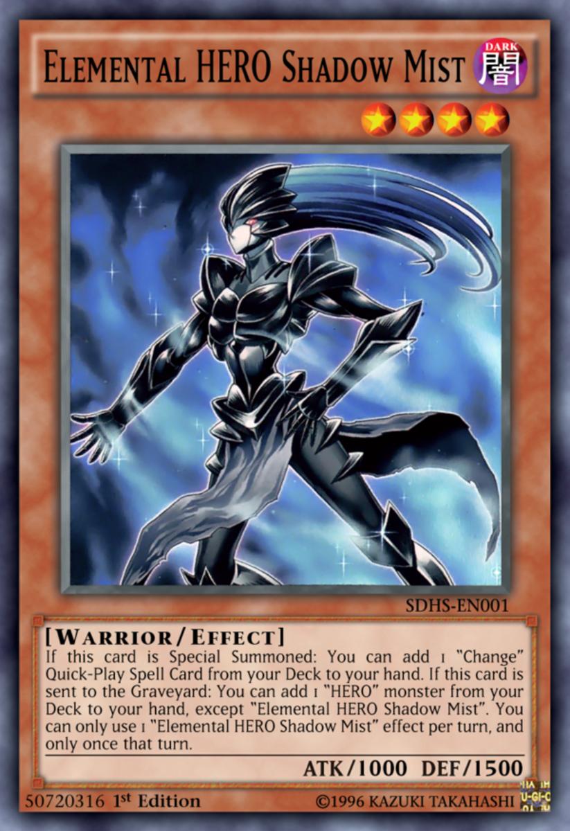 Elemental Hero Shadow Mist