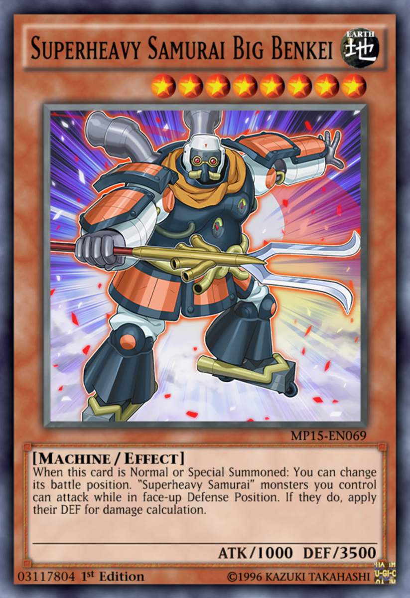 Top 10 Cards You Need for Your Superheavy Samurai Yu-Gi-Oh Deck