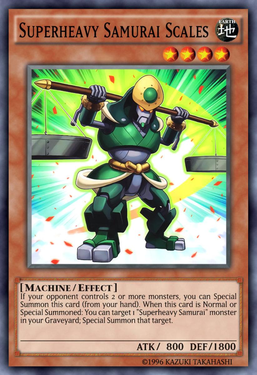 Superheavy Samurai Scales