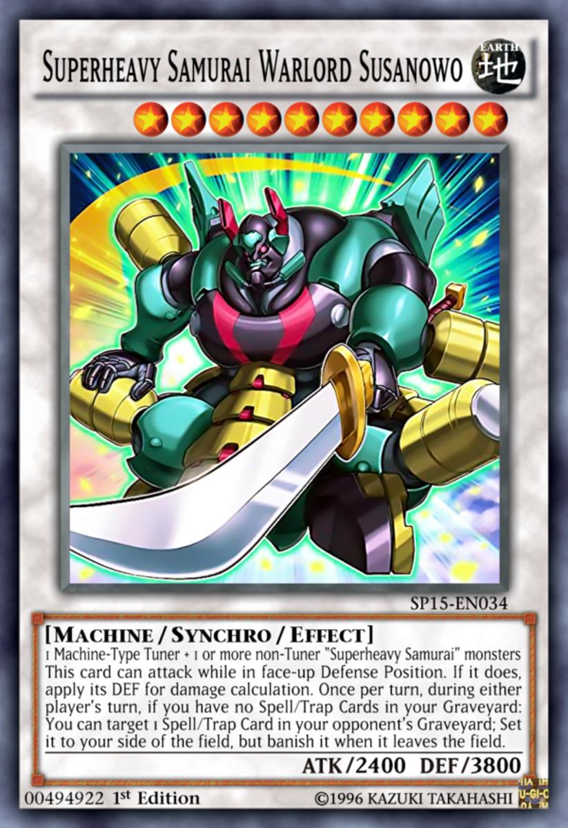 Superheavy Samurai Warlord Susanowo
