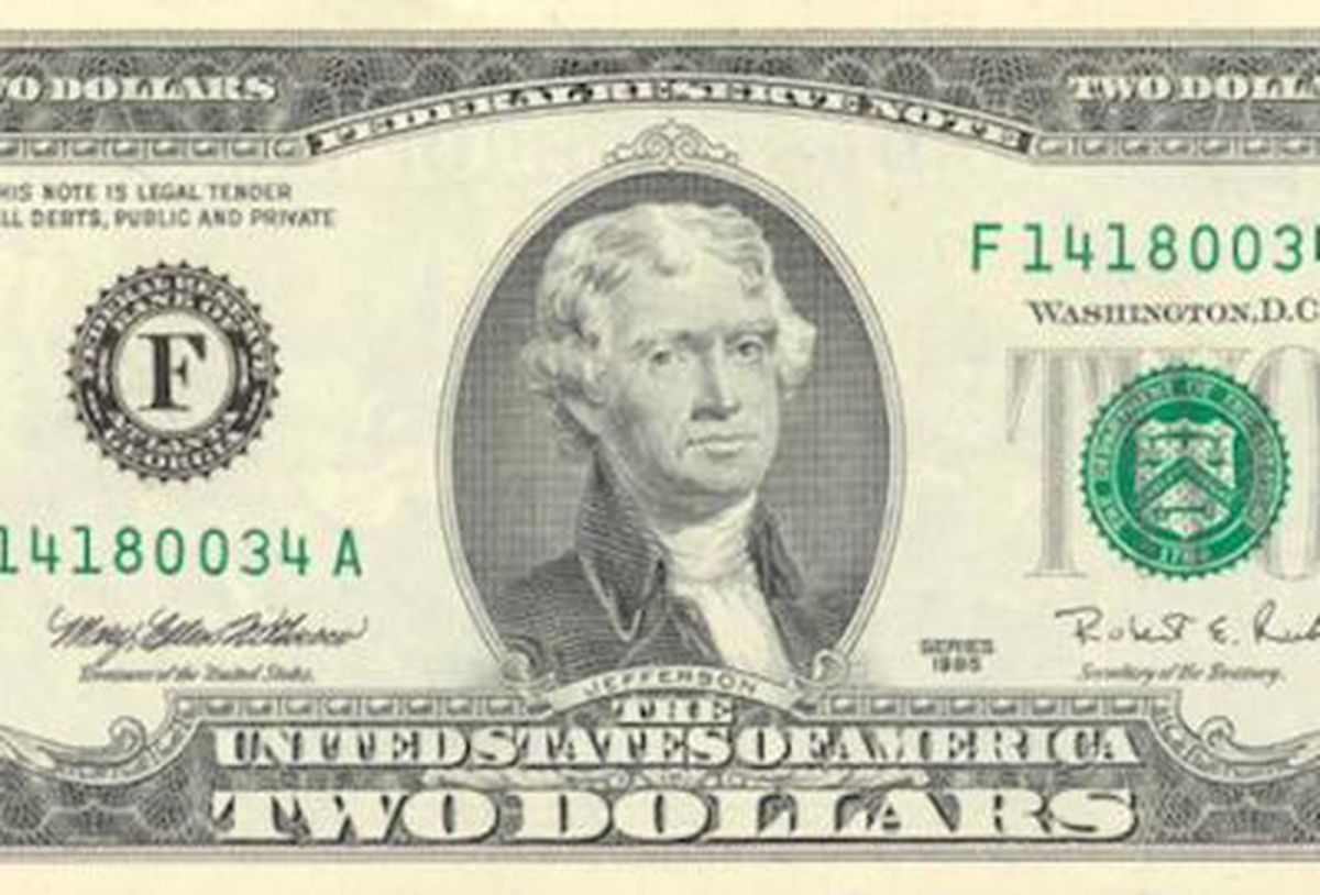 In 1976, the $2.00 bill was reintroduced by the U.S. Treasury.
