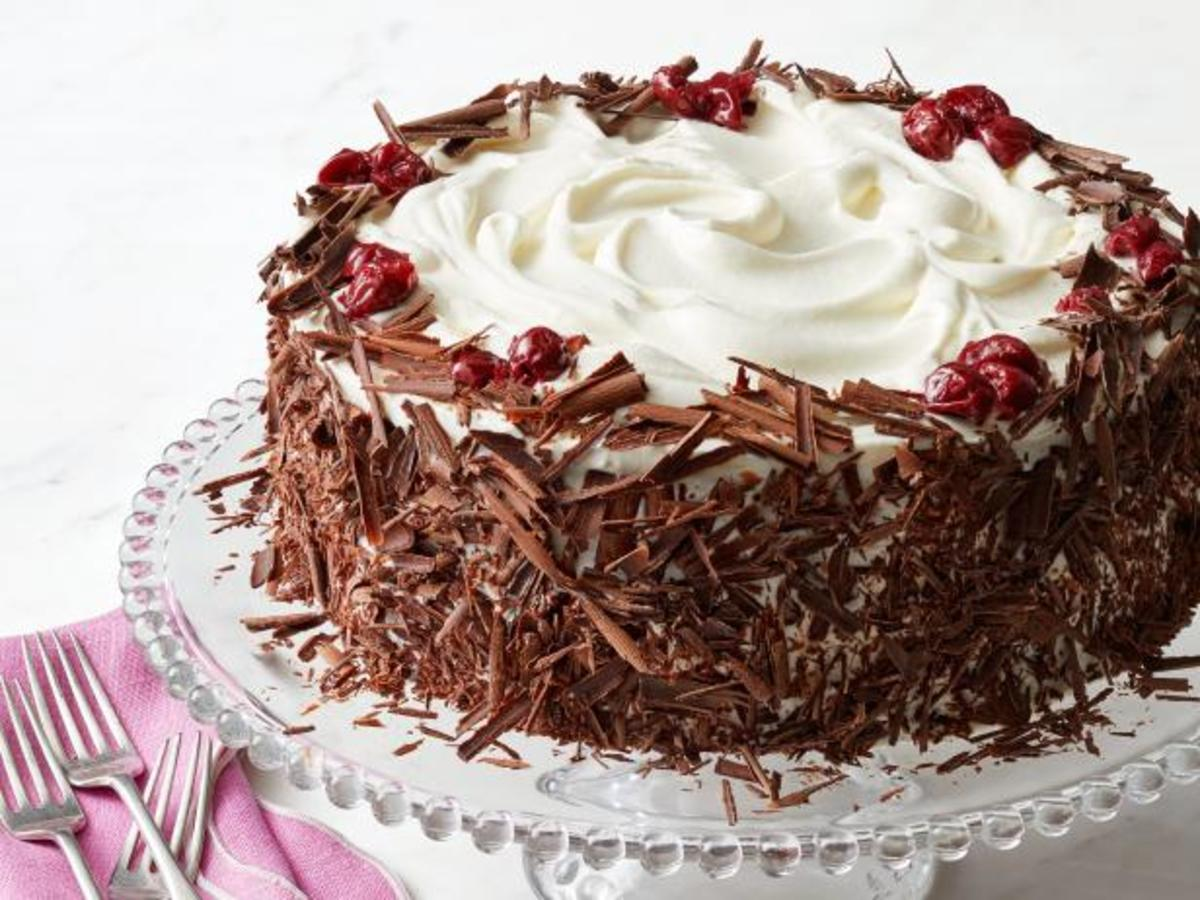 In 1976, Black Forest cake was a  crowd-pleaser.