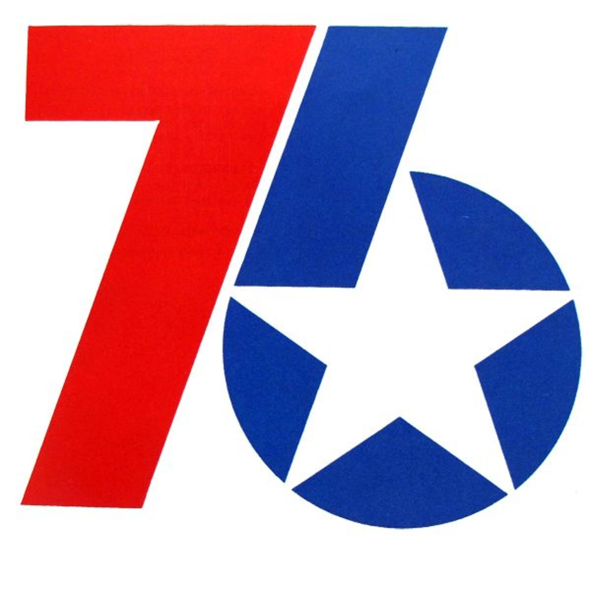 In 1976, the United States celebrated the Bicentennial.