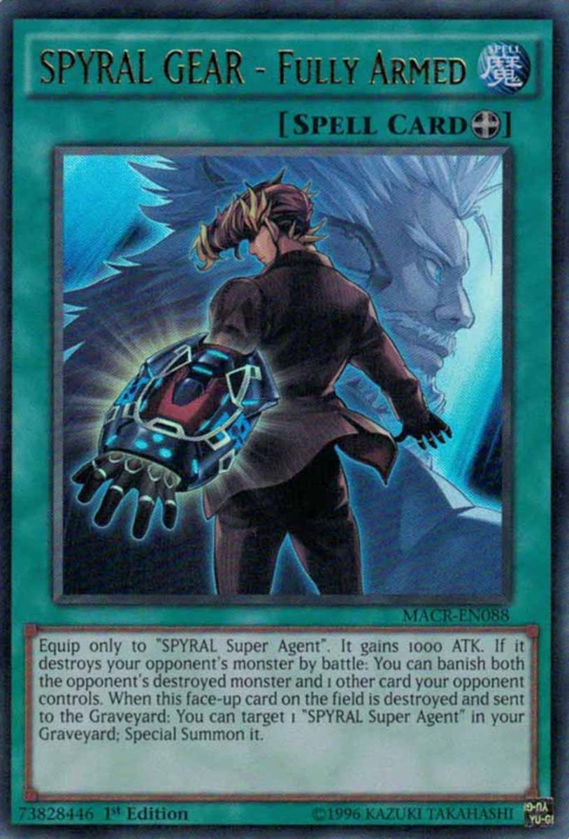 SPYRAL GEAR - Fully Armed