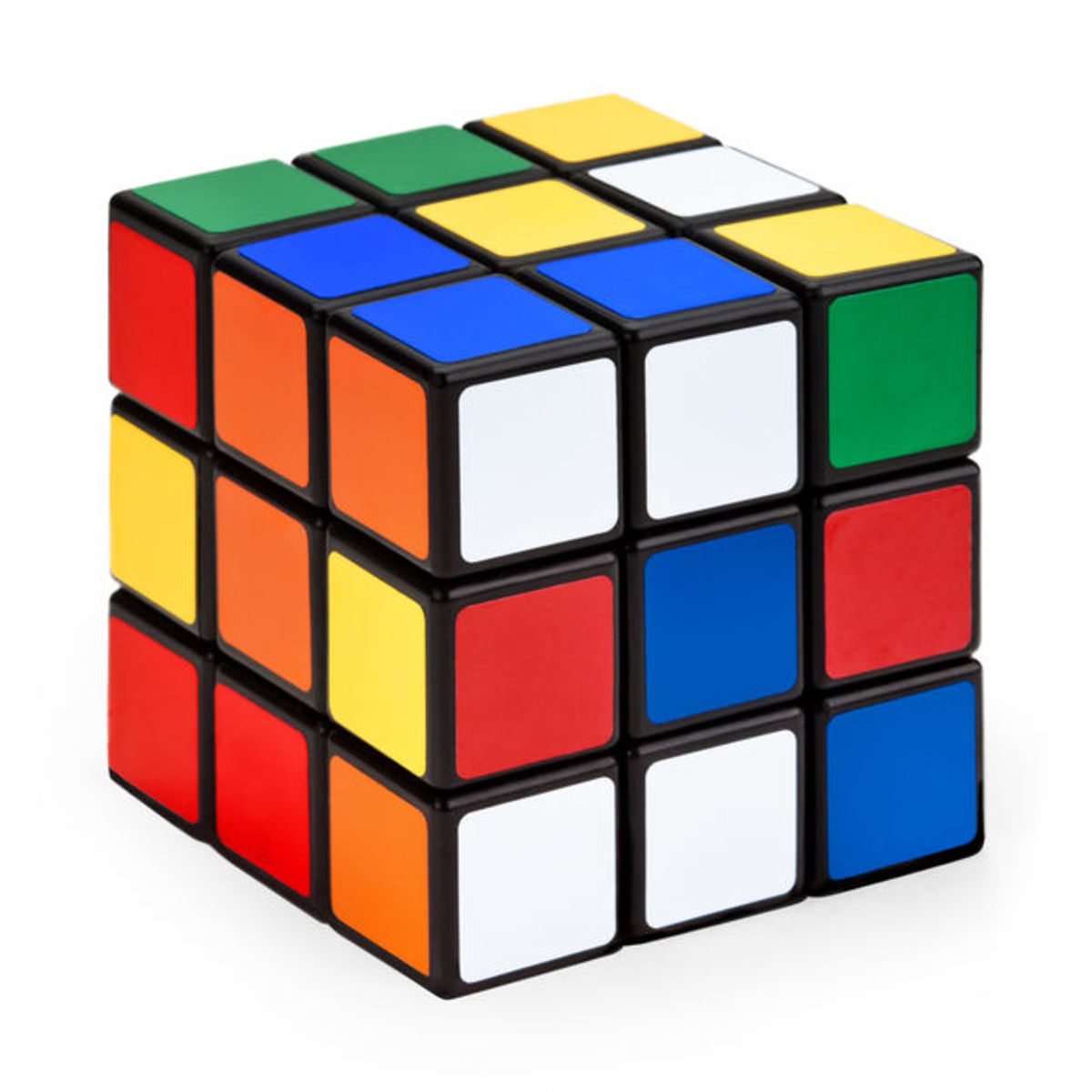 In 1980, the 3D Rubik's Cube became an icon.