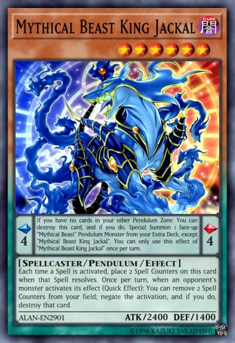 Mythical Beast King Jackal