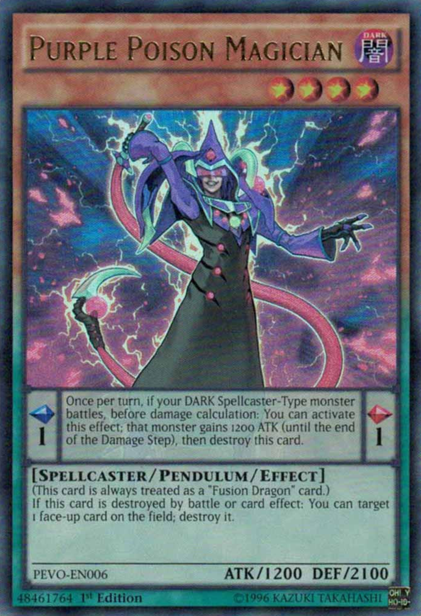 Purple Poison Magician
