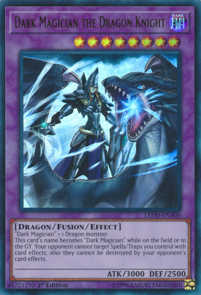 Dark Magician the Dragon Knight