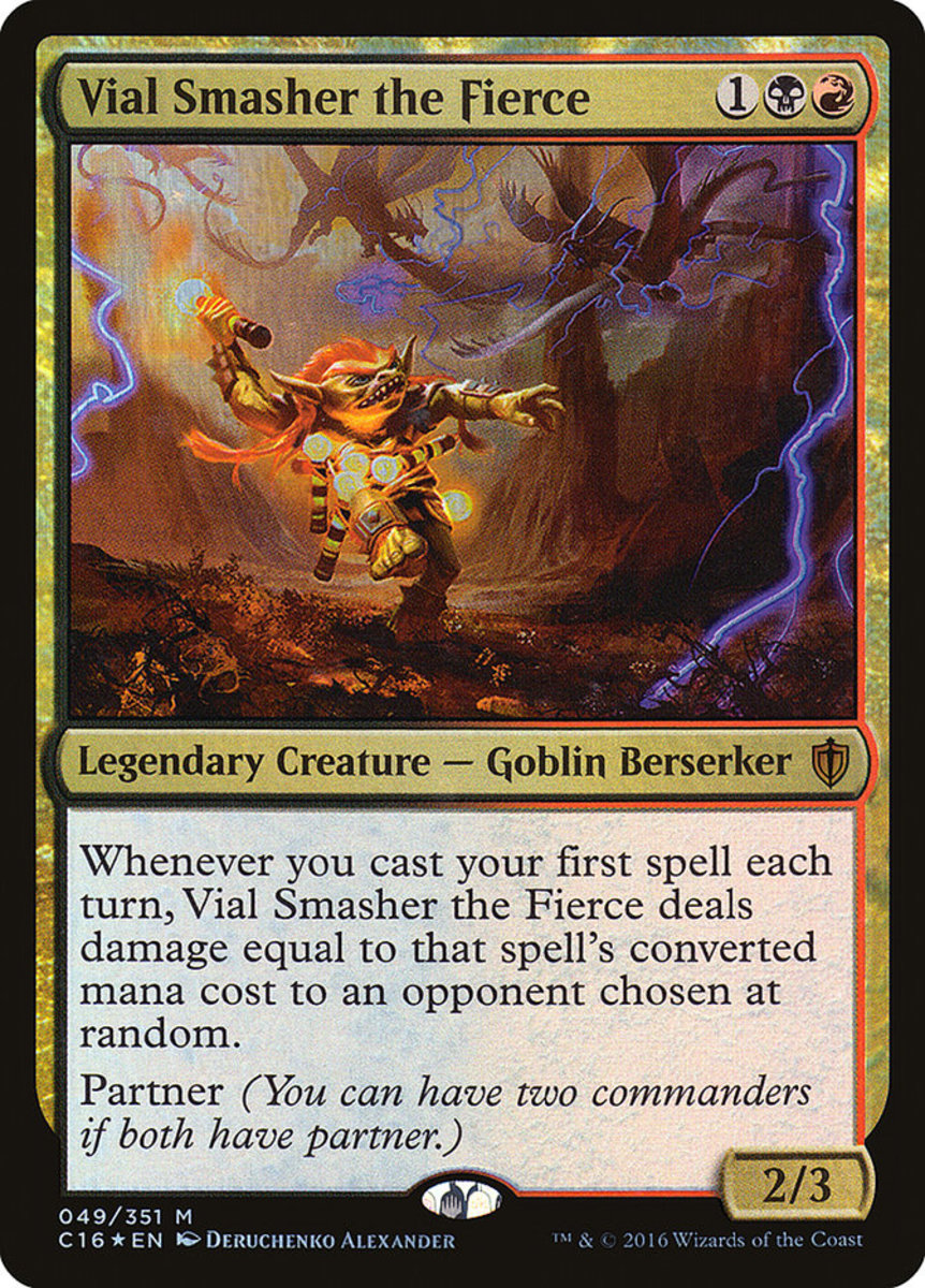 Vial Smasher the Fierce