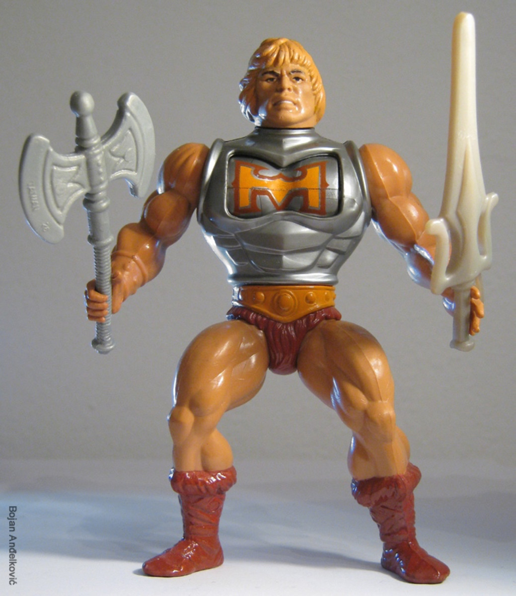 Innovative and fun to boot, Battle Armor He-Man made the battles with the evil forces of Skeletor so much more realistic.