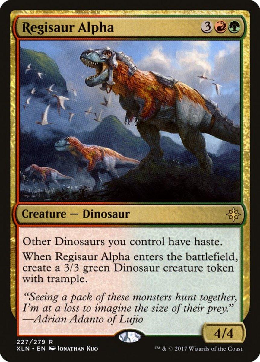 Regisaur Alpha mtg