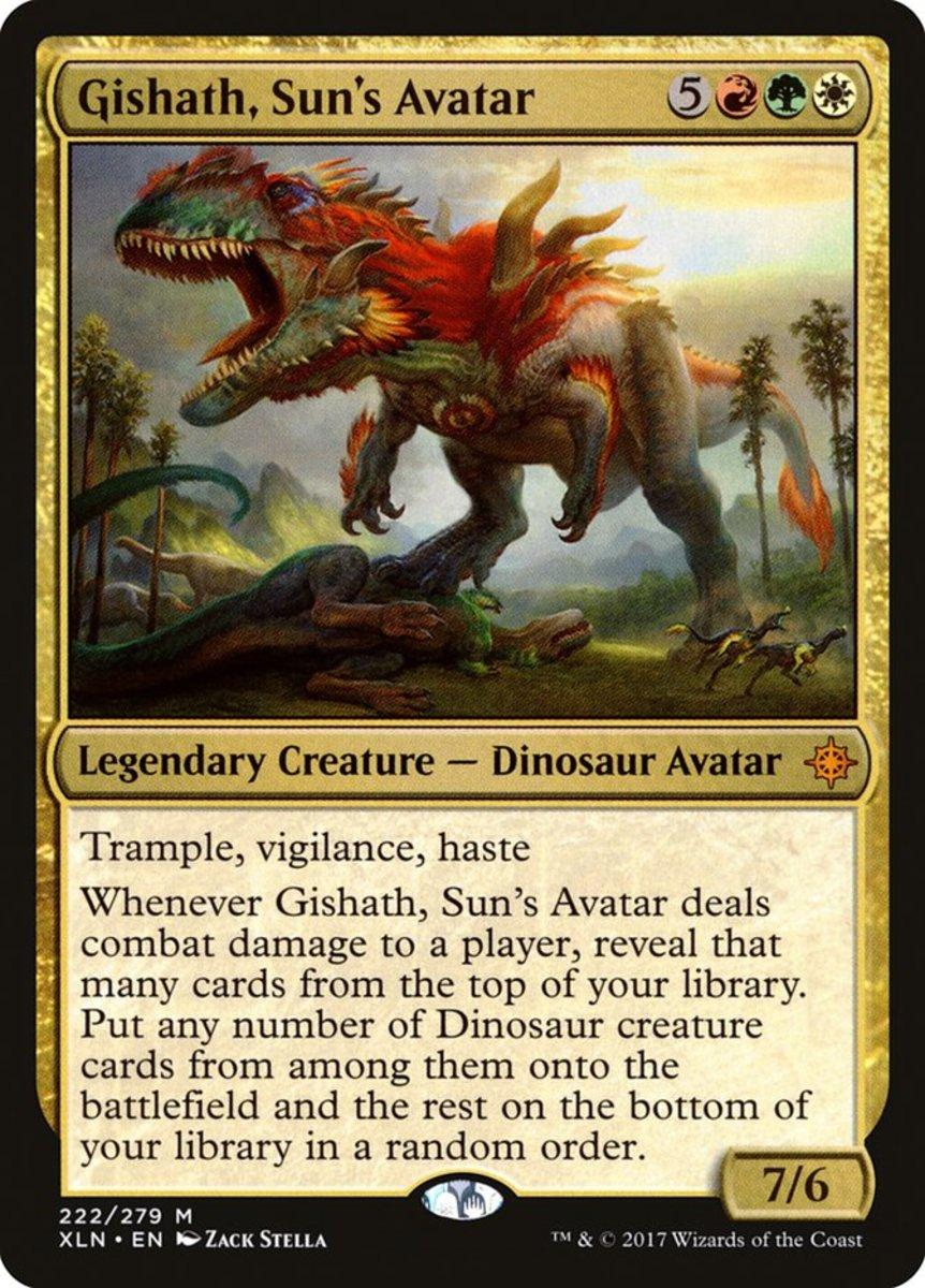 Gishath, Sun's Avatar mtg