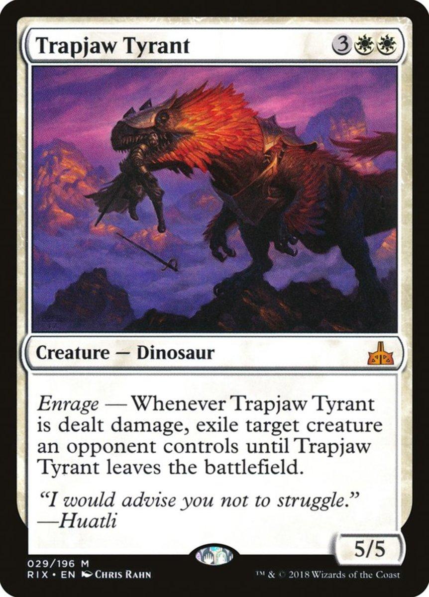 Trapjaw Tyrant mtg