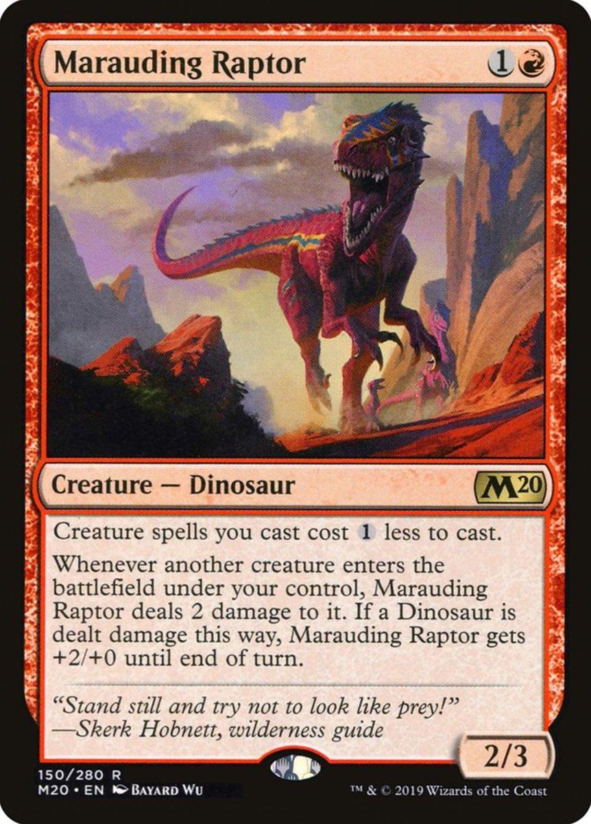 Marauding Raptor mtg
