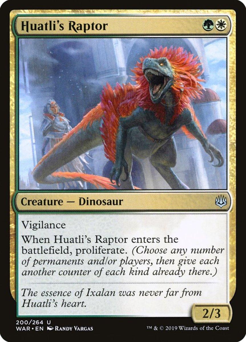 Huatli's Raptor mtg
