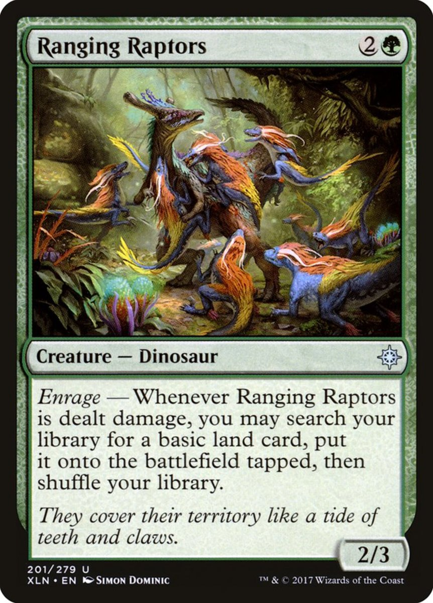 Ranging Raptors mtg