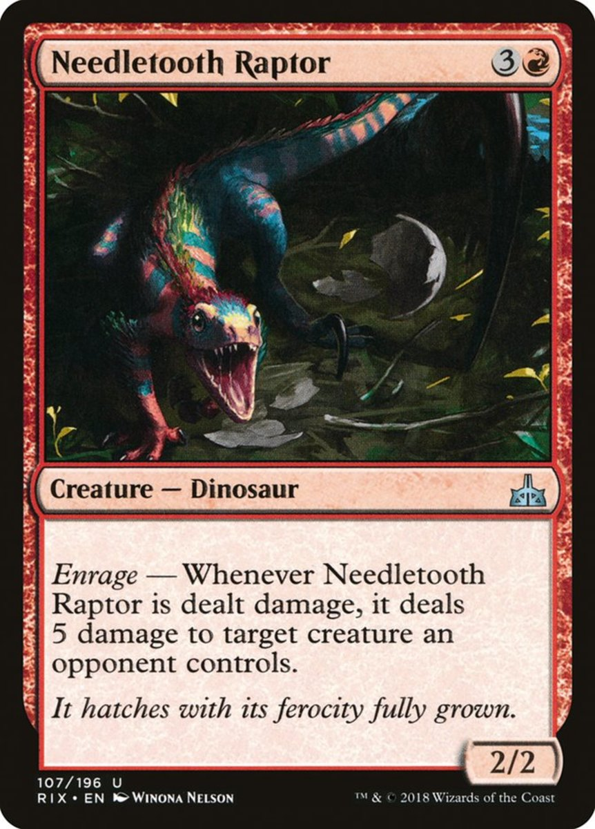 Needletooth Raptor mtg