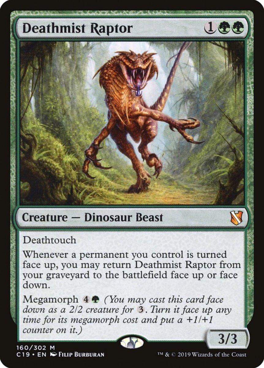 Deathmist Raptor mtg